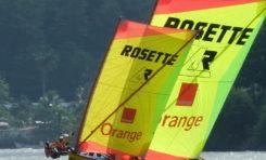 Yole Ronde : Rosette/Orange gagne la première journée du Challenge