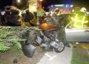 Dramatique accident de la route à Saint-Martin
