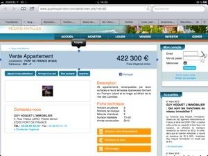 422 300 € avec vue imprenable sur le rivage scintillant de la mer des Caraïbes