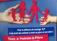 La #Guadeloupe contre le mariage pour tous