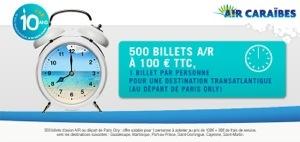 Air Caraïbes : Après le ratage...vous aurez une chance au tirage
