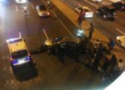 Accident sous le pont de Californie en #Martinique