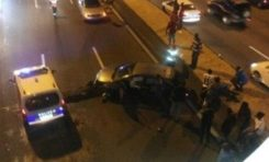 Accident sous le pont de Californie en #Martinique