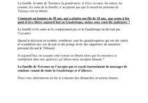 Affaire Dominique Panol : la famille de Terence réagit