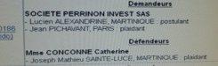 Les 267 343,67 € de loyers impayés de la société de Catherine #Conconne