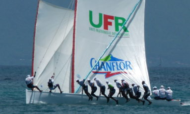 UFR Chanflor gagne le Festival de Yole de Martinique