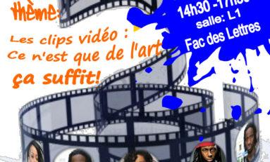 Les clips vidéo : ce n'est que de l'art... ça suffit !