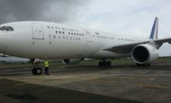 Arrivée de Jean-Marc #Ayrault en Martinique