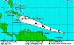 La #Martinique et la #Guadeloupe tardivement en alerte tempête ...