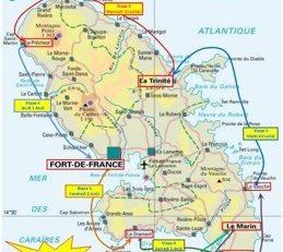 29 ème Tour de #Martinique des #yoles rondes