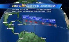 La tempête #Dorian...si Dieu veut