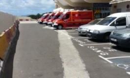 Pénurie de brancards au CHU la Meynard en #Martinique