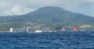 #TDY2013 Live de la deuxième étape du Tour de la #Martinique des #yoles rondes