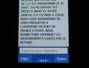 XL Airways entre sms, sos et...mayday