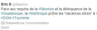 TOP RESA 2013...La #Martinique au cœur d'une mesquinerie rare tente de torpiller la #Guadeloupe et la #Reunion