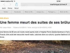 """#Martinique Première joue avec le """"feu"""" ?"""