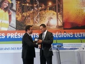 XIX Conférence des présidents des Régions Ultrapériphériques la #Guadeloupe récupère la présidence des #RUP