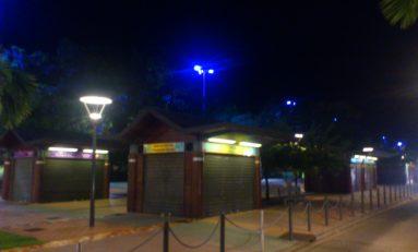 Fort-de-France By Night.... quelle affreuse tristesse