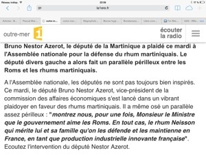 Le président de la République française François #Hollande et  le député de #Martinique Bruno Nestor Azérot victimes d'une dangereuse et étonnante manipulation médiatique ?