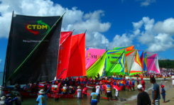 Yoles Rondes de #Martinique : résultats Prix du Semi-Marathon