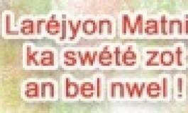 Avec la Région #Martinique le créole ...avance
