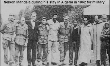 Mandela en Algérie