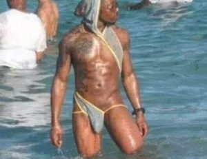 Le maillot de bain pour hommes version #2014