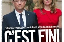 Hollande/Trierweiler : C'est fini