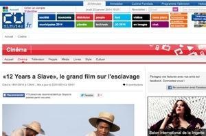 """""""12 years a slave""""...20Minutes change son titre à la con"""