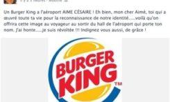 Burger d'un retour au pays natal