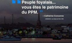 """""""Peuple foyalais...vous êtes le patrimoine du PPM"""""""