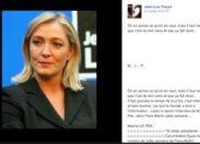 #Municipales 2014 en #Martinique : ...il admire Marine Le Pen et...il est 13 ème sur la liste d'un candidat à Sainte-Anne