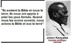 """""""Ils avaient la Bible et nous la terre..."""""""