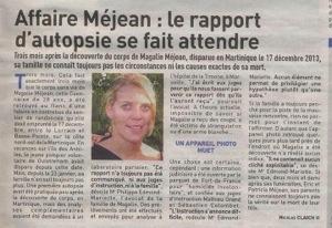 Affaire Magalie #Méjean : un rapport d'autopsie qui se fait -vraiment- attendre