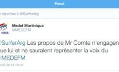LE #MEDEF #Martinique solde de tout #Comte Cyril