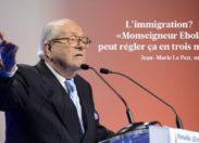 Enième dérapage conscient  de Jean-Marie Le Pen