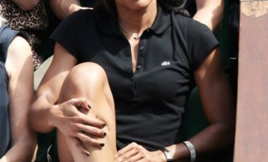 Audrey #Pulvar entre jeu de jambes et jeu de main