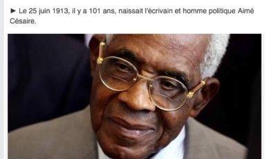 Quand ITélé réinvente la date de naissance de Aimé #Césaire