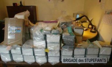 La #Martinique avance le trafic de drogues aussi...