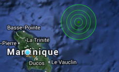 00:42. La terre a tremblé en Martinique