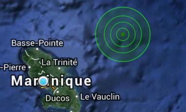 00:42. La terre a tremblé en Martinique