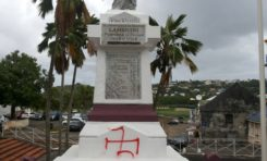 Un monument aux morts vandalisé au #Lamentin en #Martinique