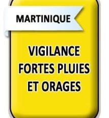 La #Martinique en vigilance JAUNE