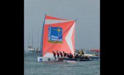 Mutuelle Mare Gaillard remporte le prologue de la trentième édition du Tour des yoles rondes de la #Martinique