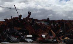 La nouvelle décharge de la Lézarde en #Martinique