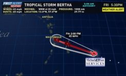 #Martinique...#Bertha nou sépa ta yo