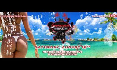 La #MercuryBeach2014 #Martinique aura lieu à...Sainte-Lucie
