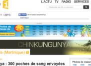 Après le magnifique Choukungunya de Serge #Letchimy voilà le Chinkungunya de #Martinique Première