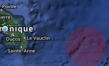 La terre a tremblé en #Martinique
