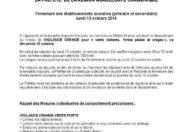 TEMPÊTE TROPICALE #GONZALO: LA #GUADELOUPE PLACÉE EN VIGILANCE ORANGE